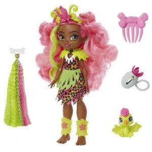 Delux Кукла Фернесса и Птилли (птеродактиль) «Пещерный клуб» 25 см Cave Club Mattel