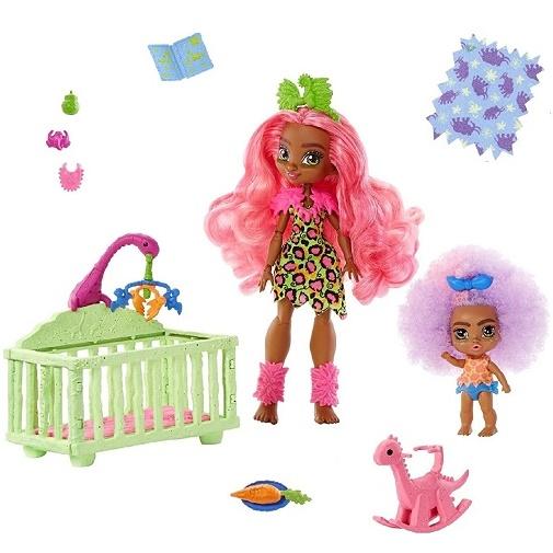 Игровой набор Няня Фернесса и малышка Фурра «Пещерный клуб» Cave Club Mattel