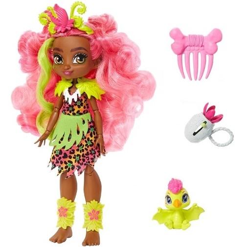 Кукла Фернесса и Птилли (птеродактиль) «Пещерный клуб» 25 см Cave Club Mattel