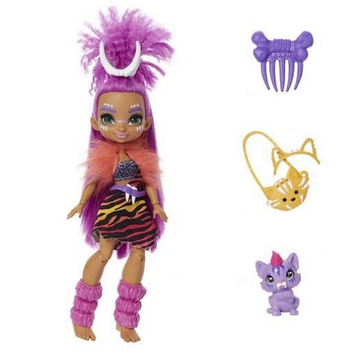 Кукла Роралея и тигренок Ферелл «Пещерный клуб» 25 см Cave Club Mattel